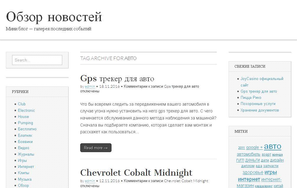 Блог gallerz.ru