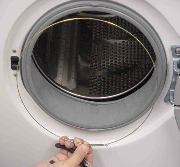 Как поменять резинку на стиральной