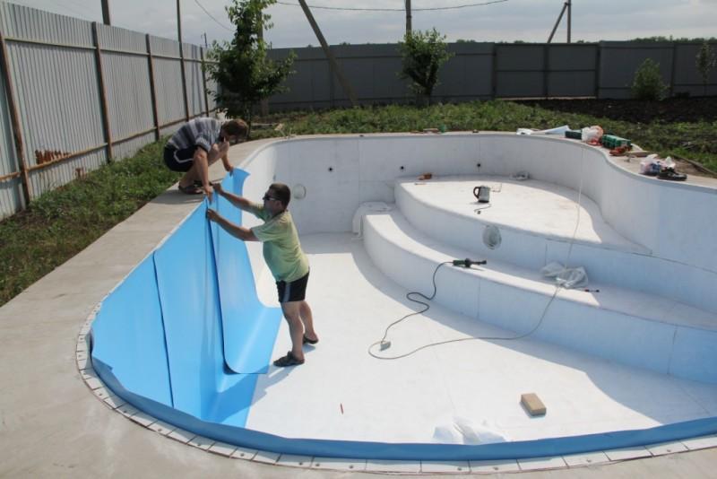 Материалы для строительства бассейна