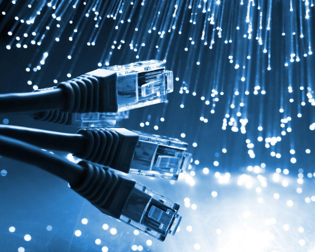 Самый быстрый – оптоволоконный Интернет