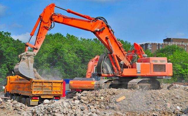 Вывоз строительного мусора профессионалами