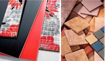 Разнообразие керамической плитки