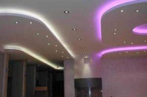 Установка освещения в комнате